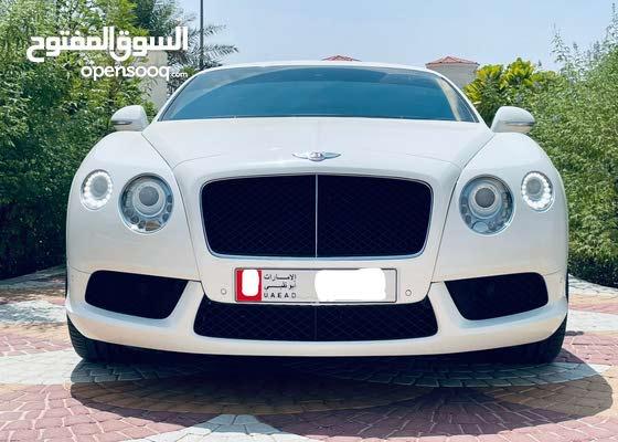 2014 BENTLEY CONTINENTAL GT V8  GCC SPECS
