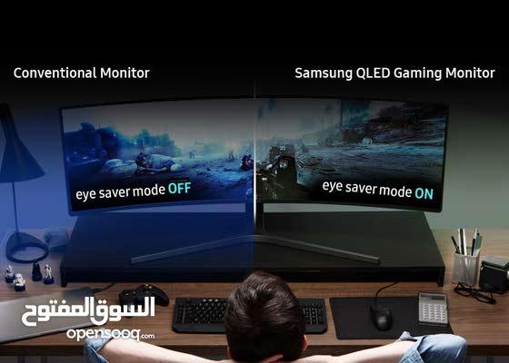"Samsung C49HG90DMU 124.2 cm (48.9"") Quantum Dot LED LCD Monitor 32:9"