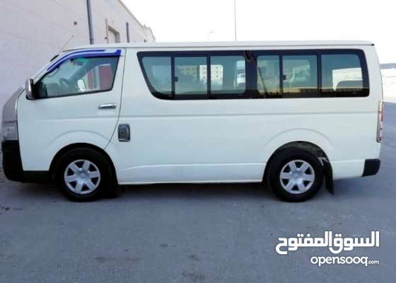 Toyota Hiace - Manual for rent