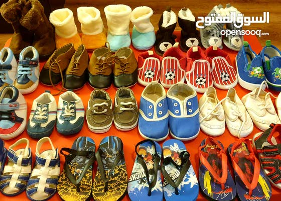 Boys Shoes - 0 to 01 Year - 25 Pairs.