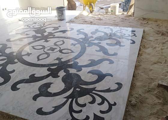 فنيين سوريين لاتركيب وتشطيب جميع انواع البلاط والسرميك رخام برسلان دهان جبس بورد