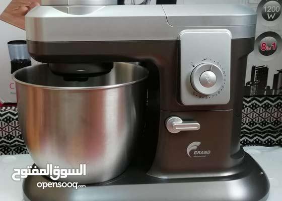 8×1 عجانه،خلاط،فرامه لحوم وخضروات، طحانه، عصارة حمضيات