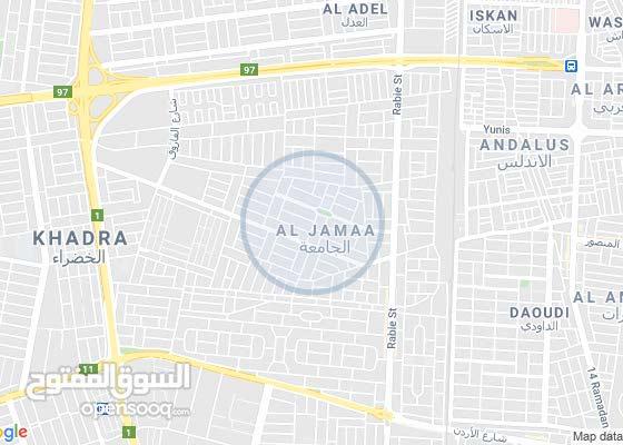قطعه ارض بغداد حي الجامعة 560م