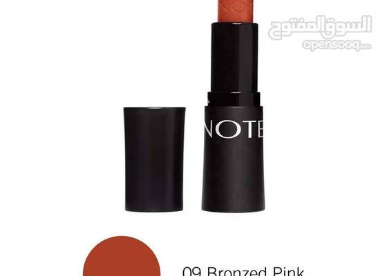 NOTE ULTRA RICH COLOR LIPSTICK - 09 Bronzed Pink