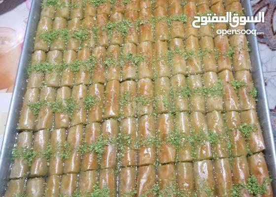 حلويات شرقية بقلاوة تركيا وكافه انواع الحلويات الشرقية