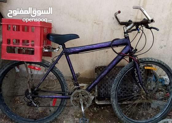 سيكل مستعمل 26 انش - خفيف و متين للبيع او البدل well condition used Bicycle