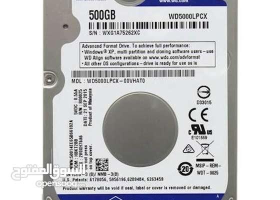 هاردسك Wd حجم 500 جيجا 143025112 السوق المفتوح
