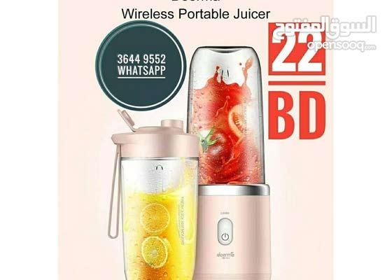 Portable Juicer 400 New خلاط محمول جديد