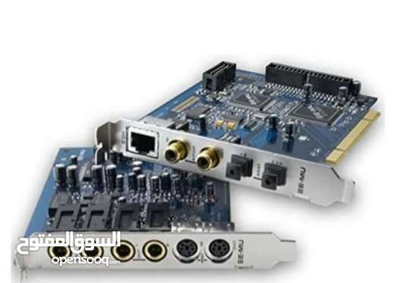 Sound card emu1212 for music production with midi output