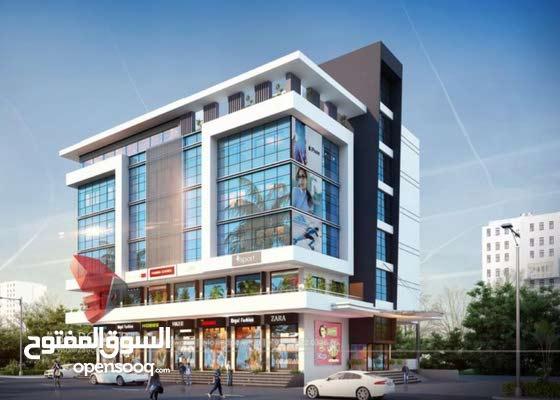 بناية جديده للبيع بالجنينه مساحة البنايه 440 متر