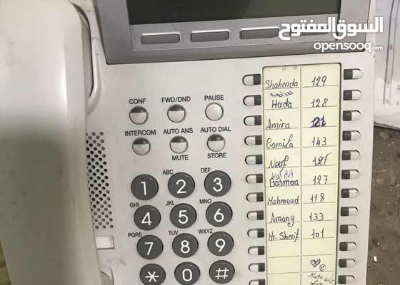 تليفونات ارضى باناسونيك تعمل على السنترال