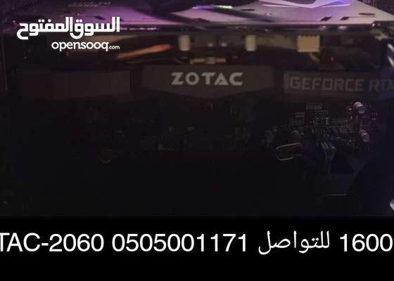للبيع RTX ZOTAC-2060