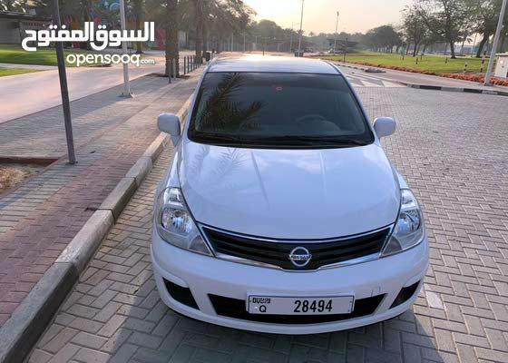 NISSAN TIDA 2012 AGENCY CONDITION 59K KM ONLY LIKE BRAND NEW GCC