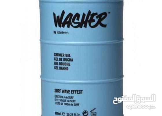 شور جل رجالي Washer Blue