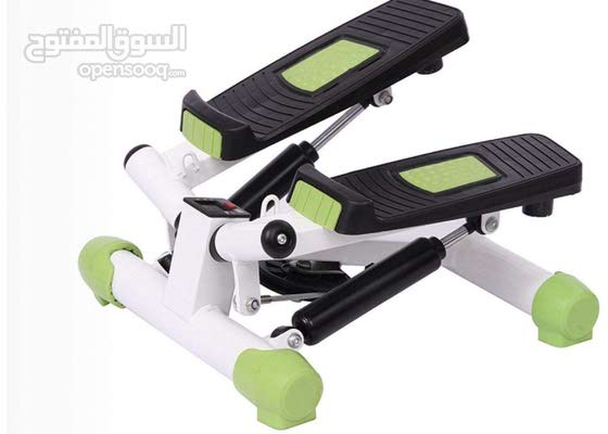 Stepper with screen (calories burned, time, steps)