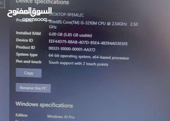 Lenovo i5 laptop for sale