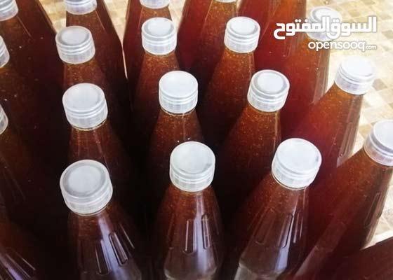 للبيع عسل برم انتاج 2021 لعسل مضمون بدون اضافات ويوجد عسل بشمع
