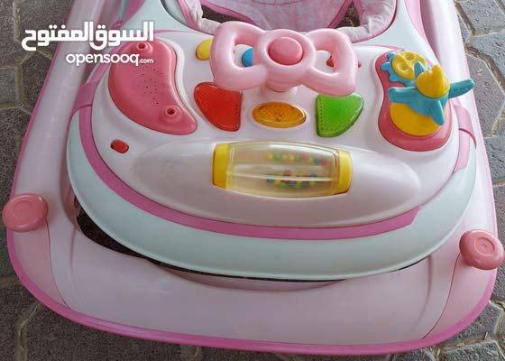 عربة اطفال للبيع في العين