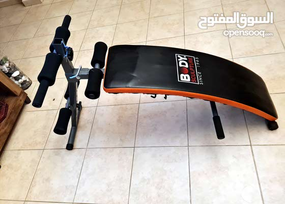Treadmill and exercise bench