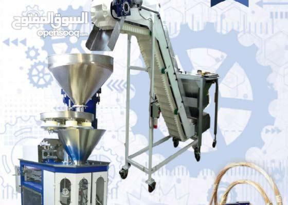 ماكينات تعبئة وتغليف الارز السكر المكرونة من الهندسية ستيل للبيع