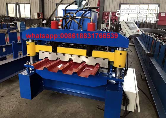 roll forming machine for trapezoidal panel