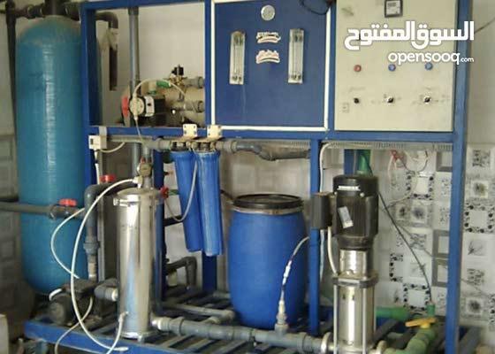 محطة تحلية للبيع مع دينة توزيع اليمن صنعاء