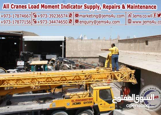 Truck Crane Supply, Repairs, Load Test & Maintenance in Bahrain