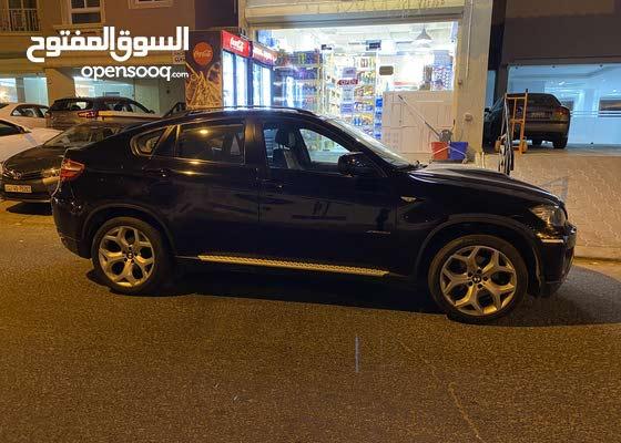 BMW x6  موديل 2013 اسود