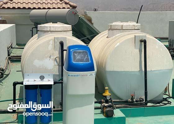 اجهزة تحلية المياه للشرب واحهزة تصفية وتنقية مياه الخزانات