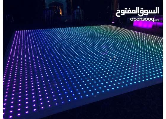 مسرح حفلات مضاء LED (فلور دانس) للبيع جديد