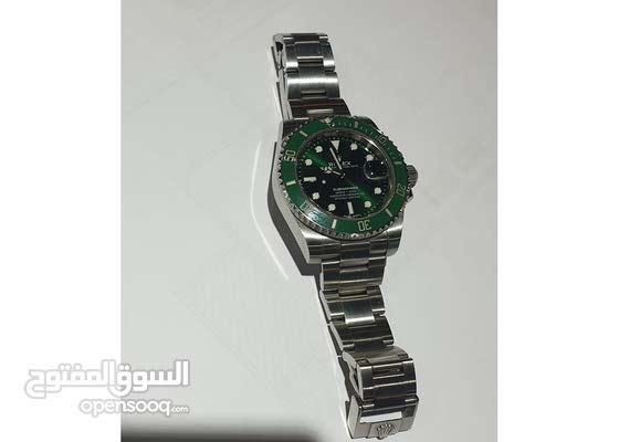ساعة روليكس أصلية للبيع-موديل submariner - جميع المحتويات موجودة بوكس، استيكر