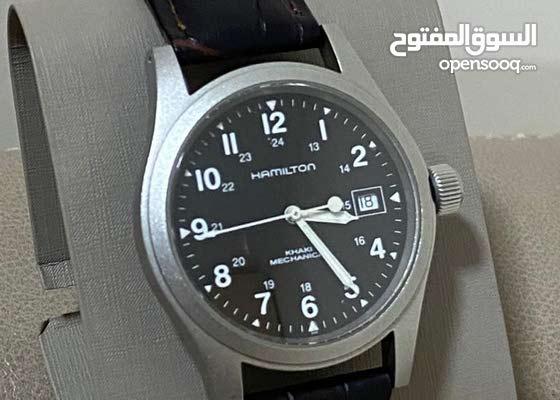 ساعة HAMILTON  سويسرية اصلية مستخدمة نظيفة تشتغل بدون بطارية