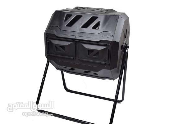 Maze 160L Roto Twin Compost Tumblerتحويل مخلفات المنزل