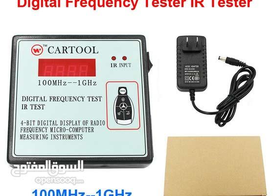 CARTOOL Digital Frequency Tester IR Tester Remote Key Tester Range 100-1000MHZ
