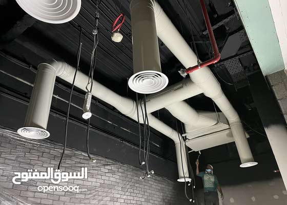 تصميم توريد وتركيب جميع انواع مجاري الهواء بافضل الاسعار