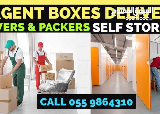 Movers & Packers Urgent Boxes Delivery
