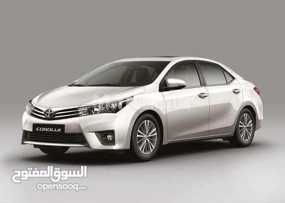تاجير تويوتا كورولا Toyota Corolla for rent