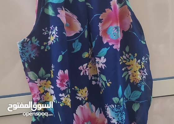 Pearl chiffon sleeveless قميص شيفون