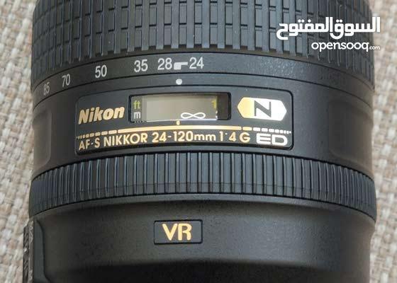 Nikon 24 120mm 1.4G ED VR Lens