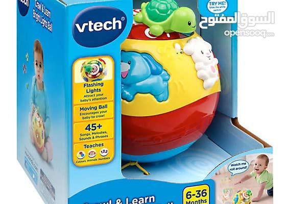 لتجار الجملة متوفر العاب اطفال جديدة ماركة vtech والكمية المتوفرة هي 3 طن ونصف