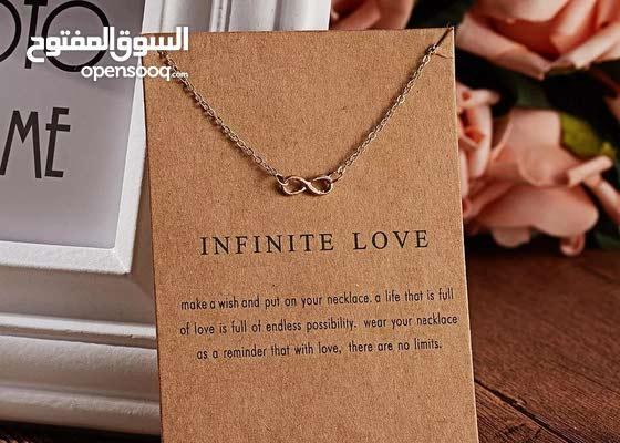 Infinite love necklace. Price: 1BD