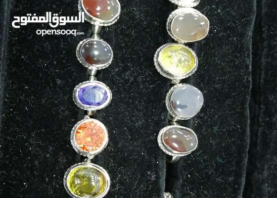 خواتم فضه عماني باحجار كريمه للأطفال
