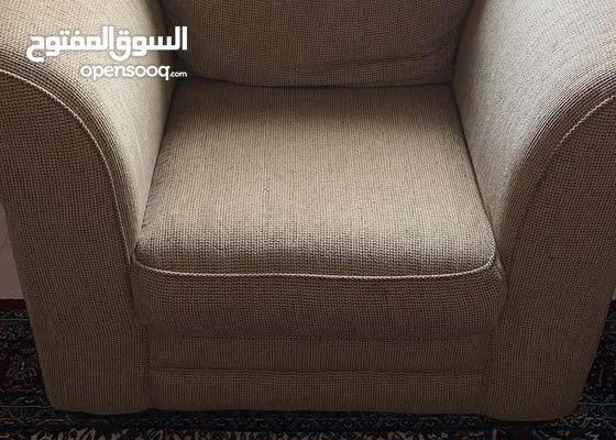 صوفية فخمة كنبة كرسي لشخصين و كرسي لشخص