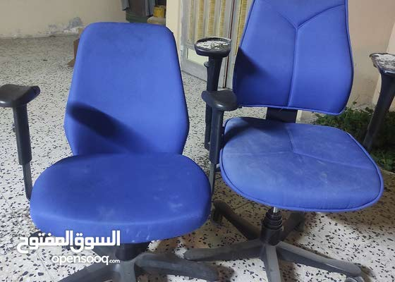 للبيع عدد 2 كرسي مكتبي