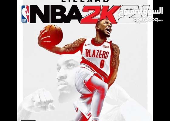 مطلوب NBA 2k21 مستعملة  ps4