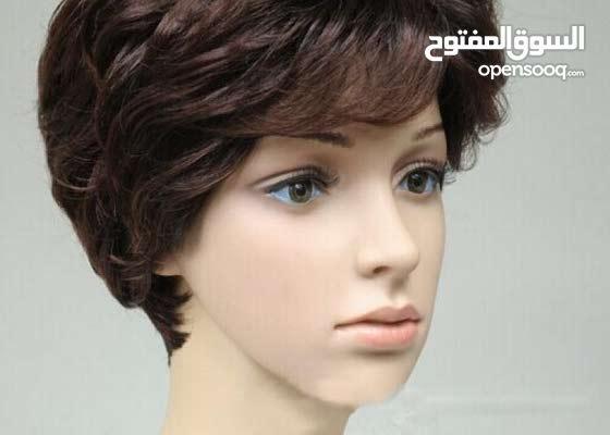 باروكة شعر طبيعي 100% برازيلي قصير بوي