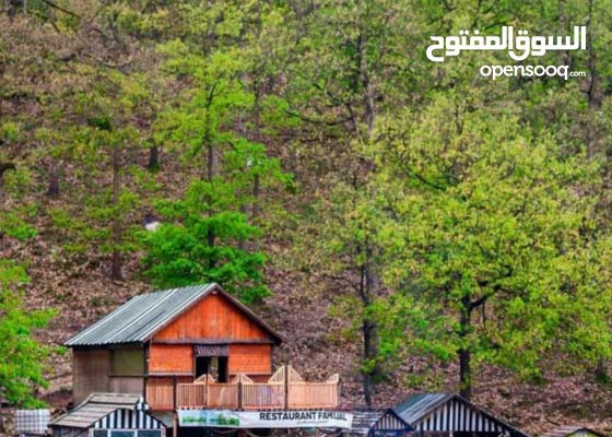 مشروع اخواخ خشبية وشاليهات ومزارع سياحية