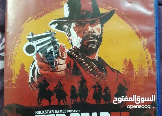 لعبة red dead redemption 2 للبيع ps4