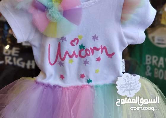 بادي فستان 2 قطع لرضيع بنت