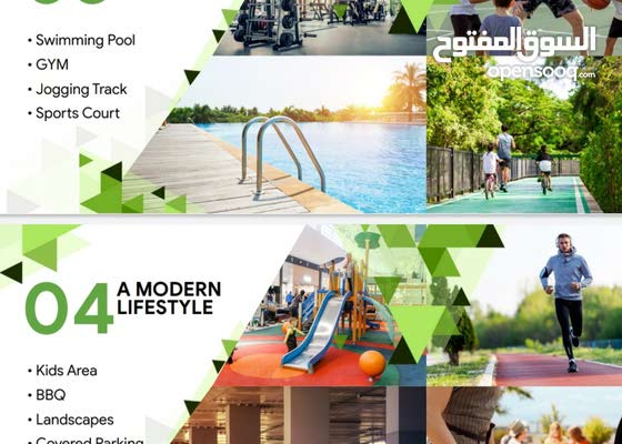 تملك بقلب دبي من 330 الف استديوا وغرفة من 520 الف وغرفتين مع غرفة اطفال وغسيل فقط من 820 الف
